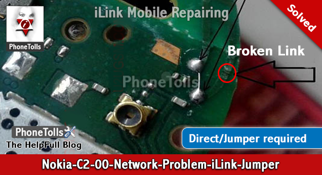 Nokia C-2-00 Network Problem Jumper