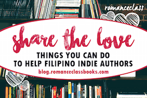 Support Filipino Indie Authors!