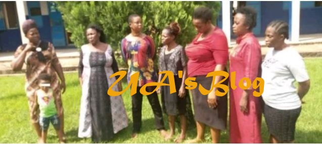 Faces Of Seven Women Who Stole And Sold Two Children For N850,000 (Photos)