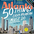 DEAL OF THE DAY - APRIL 23, 2016 ATLANTA MAGAZINE On sale today only for just $3.99 for 1 Year