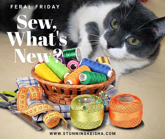 Feral Friday: Sew, What's New?