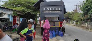 Adanya Mobil Treatment Polri, Korban Banjir Bandang Luwu Utara Tidak Lagi Kesulitan Mendapatkan Air Bersih