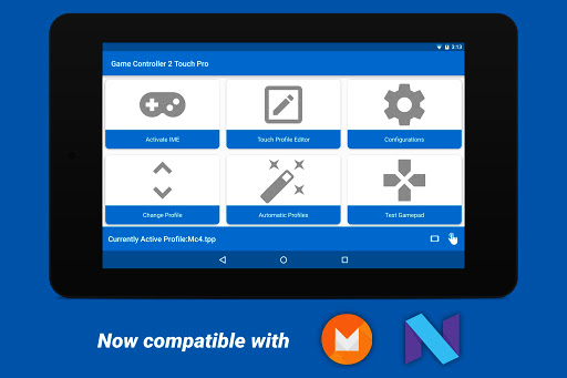 Game Controller 2 Touch PRO v1.3 (Paid) Apk