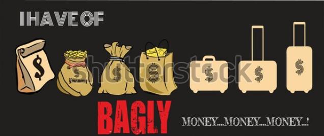 poster design in illustrator money set