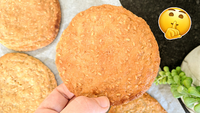 recette, cookies, courstillant, 2 minutes, sésame
