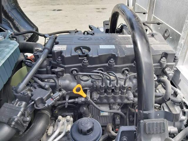 Động cơ Hyundai 110sp thùng bạt