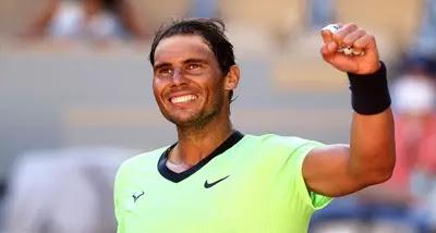Khel Samachar :  फ्रेंच ओपन टेनिस टूर्नामेंट में राफेल नडाल ने दूसरे दौर में प्रवेश किया