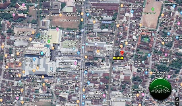 Tanah Dijual dekat Jogja City Mall