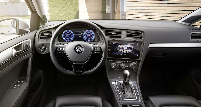 36kWh VW e-Golf interior