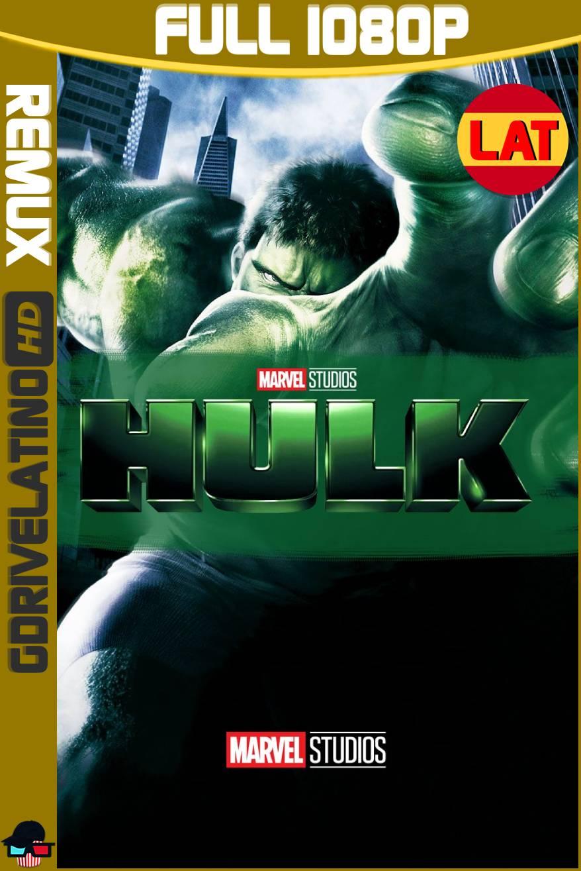 Hulk (2003) BDRemux 1080p Latino-Ingles MKV