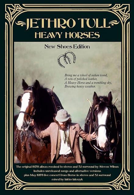 """Resultado de imagem para Jethro Tull anuncia edição comemorativa de 40 anos do álbum """"Heavy Horses"""""""