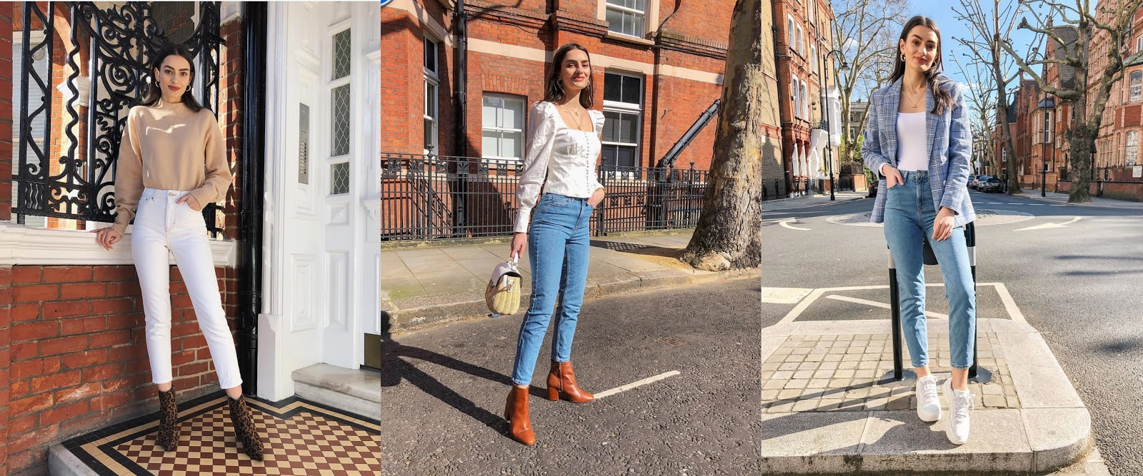 how to style topshop mom jeans