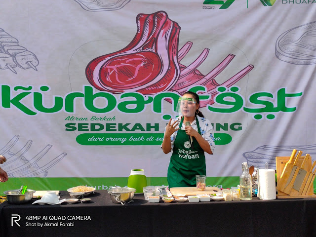 Menyaksikan Program Sedekah Daging Dompet Dhuafa di Zona Madina