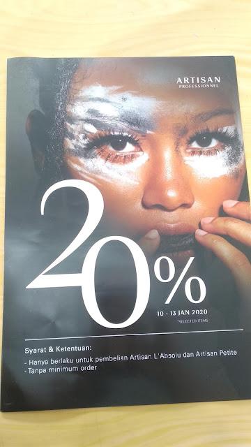 Poster Promosi Salon 20%