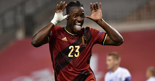 Michy Batshuayi strikes twice as Belgium demolish Iceland
