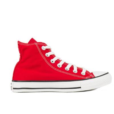 Tênis Converse All Star Chuck Taylor Hi Vermelho/Cru/Preto