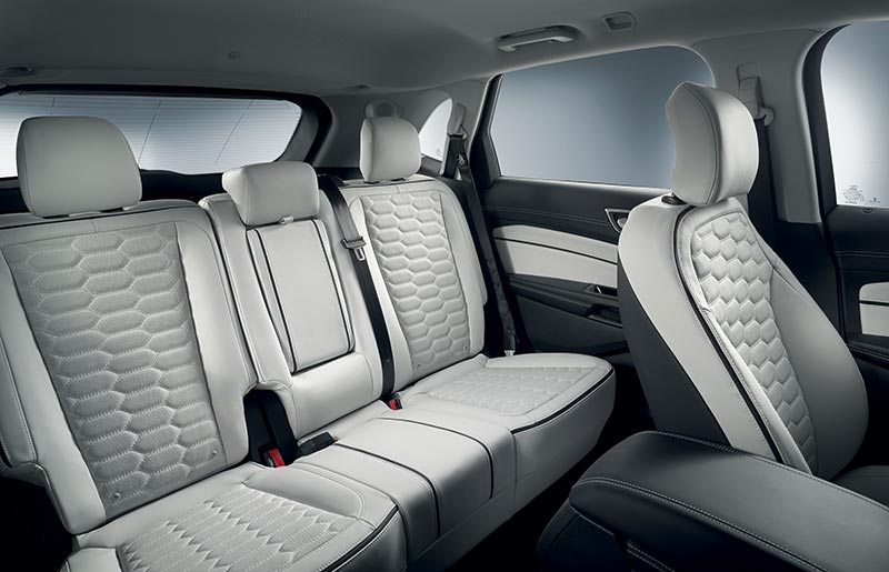 2017 Ford Edge Vignale Interior Pictures And Photos