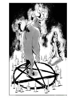 A invocação do demônio tirinha