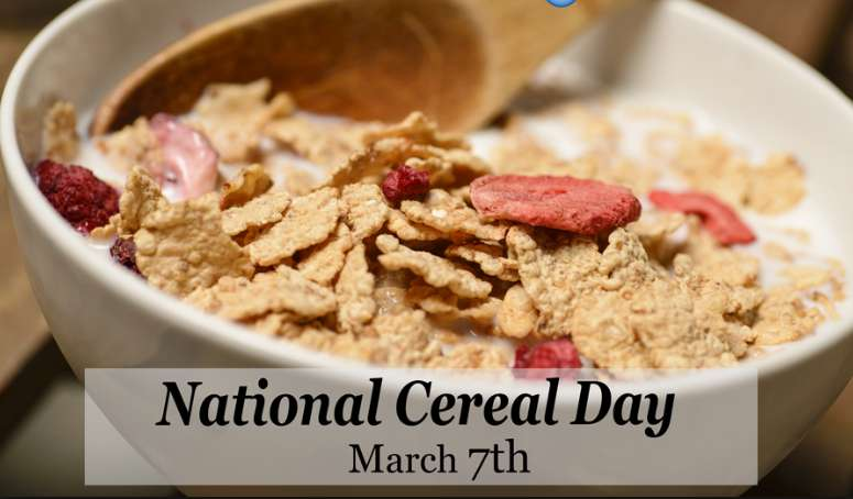 National Cereal Day Wishes Unique Image