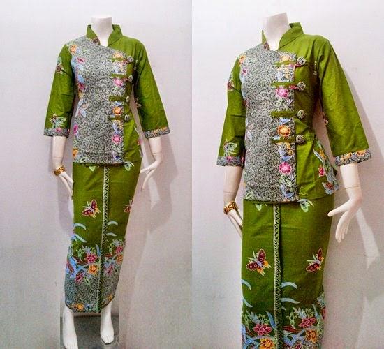 Batik bagoes solo model baju batik gamis modern diana series Baju gamis batik hijau tosca