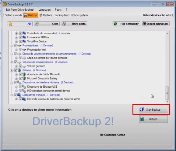 Como fazer backup dos Drivers do seu computador