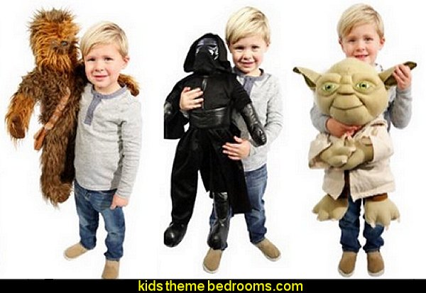 Disney Star Wars Oversize Plush Pillow Buddy - Chewbacca - Kylo Ren - Yoda