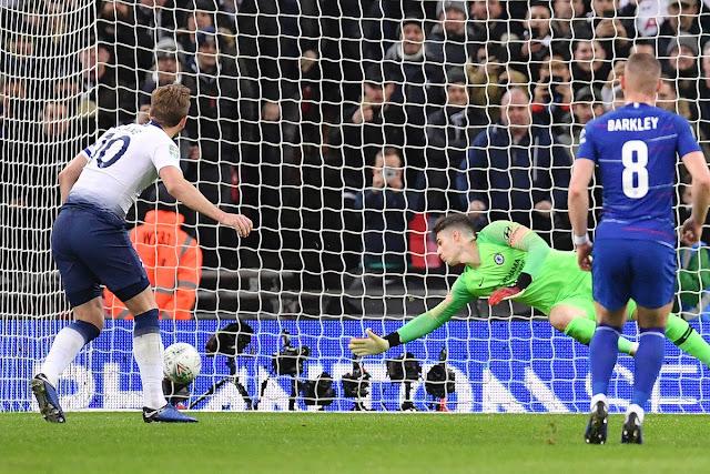 League Cup Semifinal 1st Leg: VAR Penalty Helps Tottenham Beat Chelsea 1-0