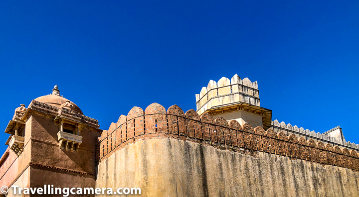 Anyone visiting Kumbalgarh fort and the Badal mahal can see stone jalis in the Zanana Mahal. These jalis of zanana mahal are beautiful and were used by the queens to see the court proceedings in the frontyard. There is a  creative air conditioning system inside the chambers which is a fascinating thing to see. Such natural air conditioning systems can be seen in many palaces across Rajasthan and other state of India. The system is facilitated with a series of duct pipes which allows cool air into these beautiful rooms and further ventilating them from the bottom.