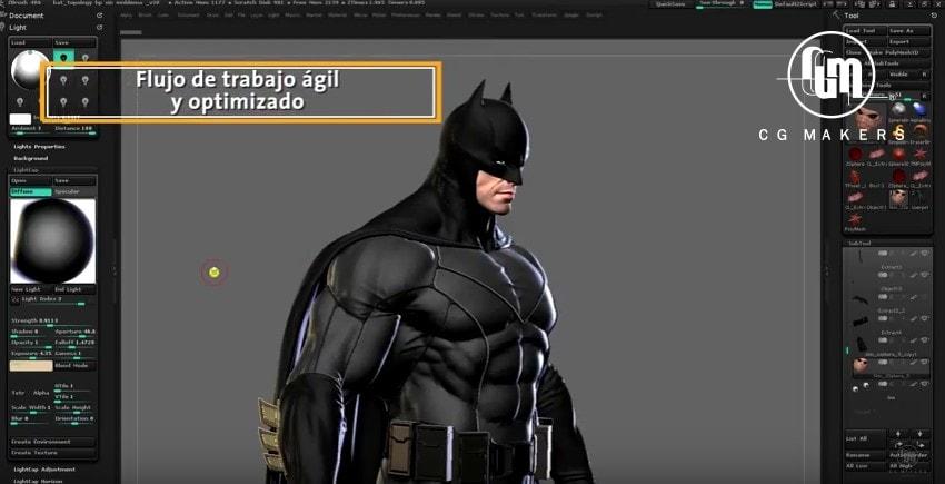 Aprende a crear personajes 3D con Zbrush