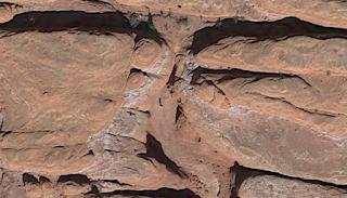 metal monolith location google earth photo image