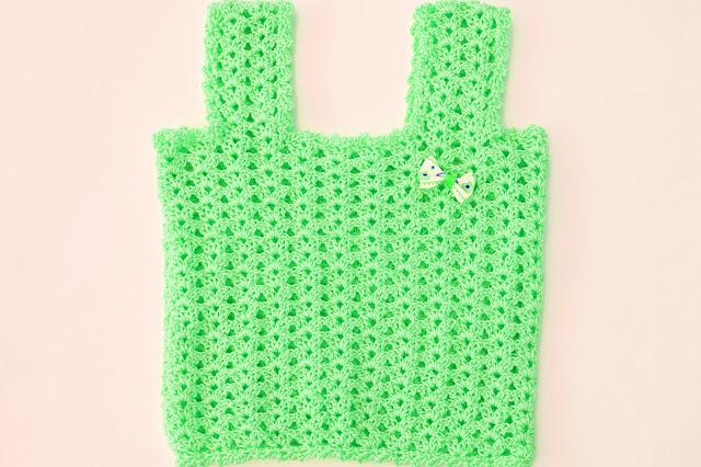 6 -Crochet Camiseta de tirantes a crochet sencilla y fresca por Majovel Crochet