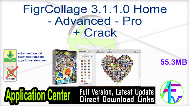 FigrCollage 3.1.1.0 Home – Advanced – Pro + Crack