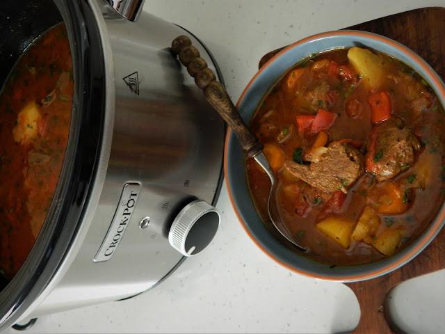 Supa gulas la Crock-Pot