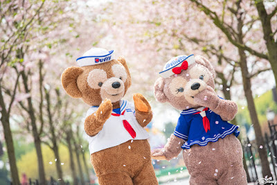 #DisneyMagicMoments, 米奇與好友 一起在 上海迪士尼 賞櫻, SHDL, Shanghai Disneyland, Mickey Mouse, Minnie Mouse, Donald Duck, Daisy Duck, Duffy, ShellieMay, Gelatoni, StellaLou, CookieAnn