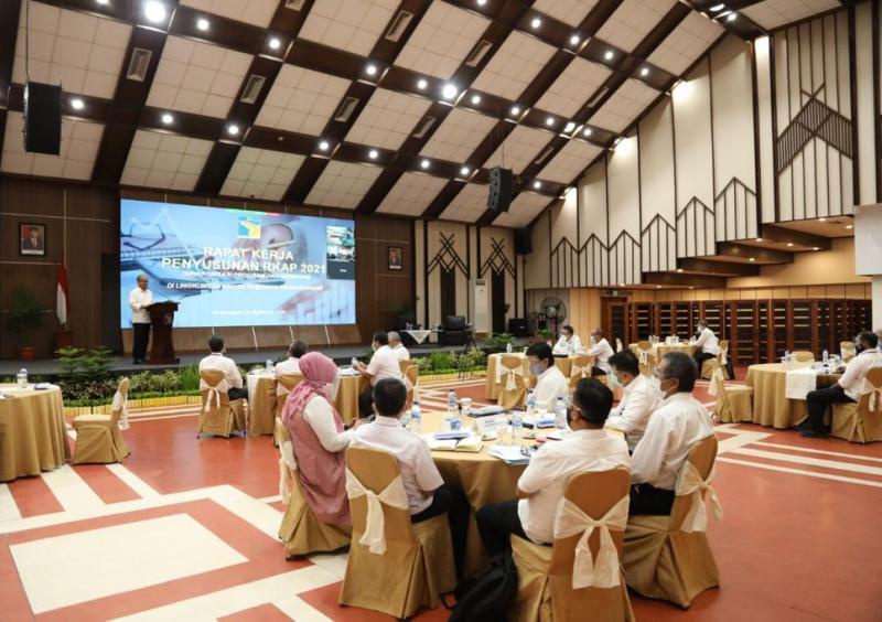 BP Batam Gelar Rapat Kerja Bahas RKAP 2021