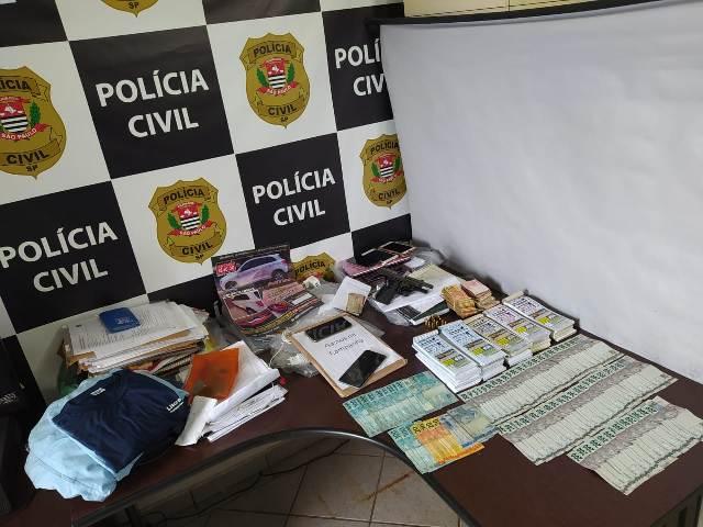 Polícia Civil executa operação Laura II contra organização criminosa que fraudava licitações públicas