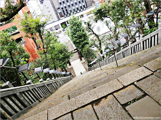 Escaleras del Éxito del Templo Atago en Tokio