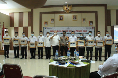 Ekspos Data Indikator Strategis BPS: Persentase Penduduk Miskin Mesuji, Terendah se-Provinsi Lampung
