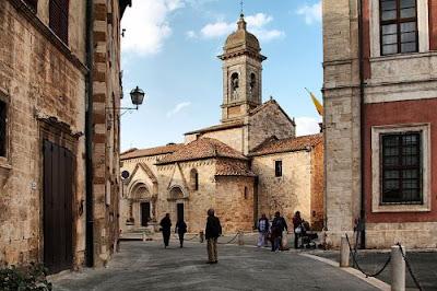 San quirico d'Orcia - Tappa del tour di 2 giorni tra Toscana e Umbria.