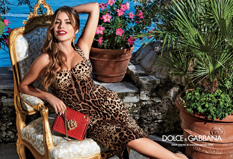 Sofia Vergara stars in Dolce & Gabbana Devotion handbag campaign