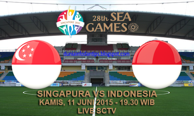 Singapura U23 vs Indonesia U23