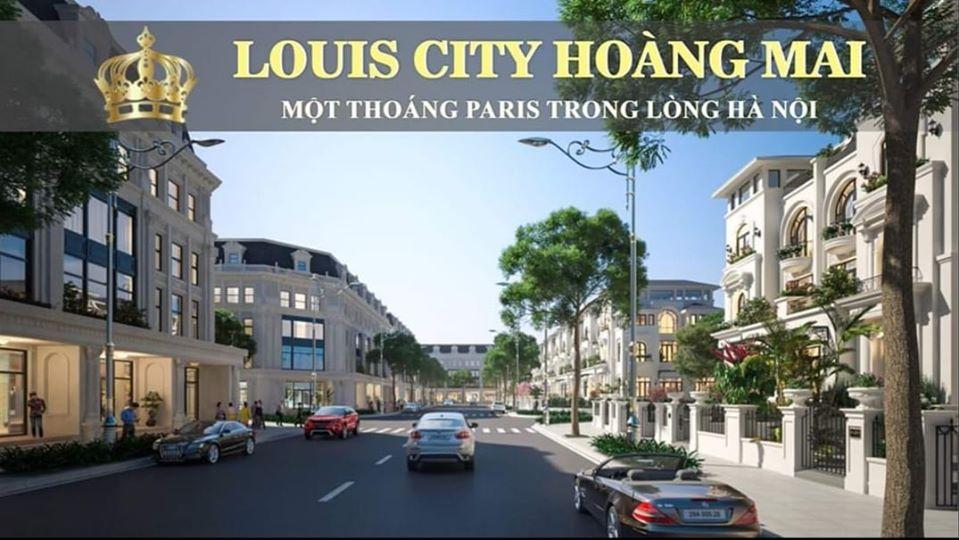 Bán suất NỘI BỘ liền kề Louis Hoàng Mai giá rẻ hơn thị trường - Gọi 0935538601