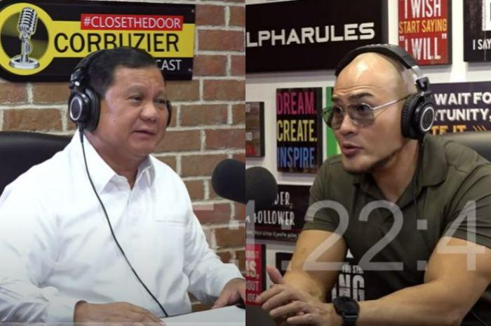 Beberkan Sejumlah Kejanggalan Ini, Podcast Prabowo-Deddy Corbuzier Cuma Settingan Belaka?