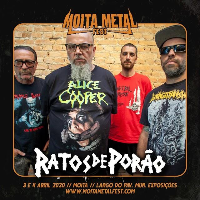 Moita Metal Fest 2020 começa a ganhar forma