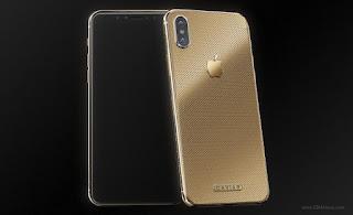 Iphone x classic gold