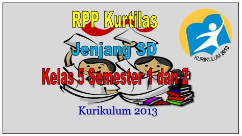 Contoh RPP Kurikulum 2013 Kelas 5 Jenjang SD Lengkap Format Word