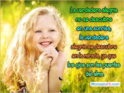 Postales Con Frases De Alegria