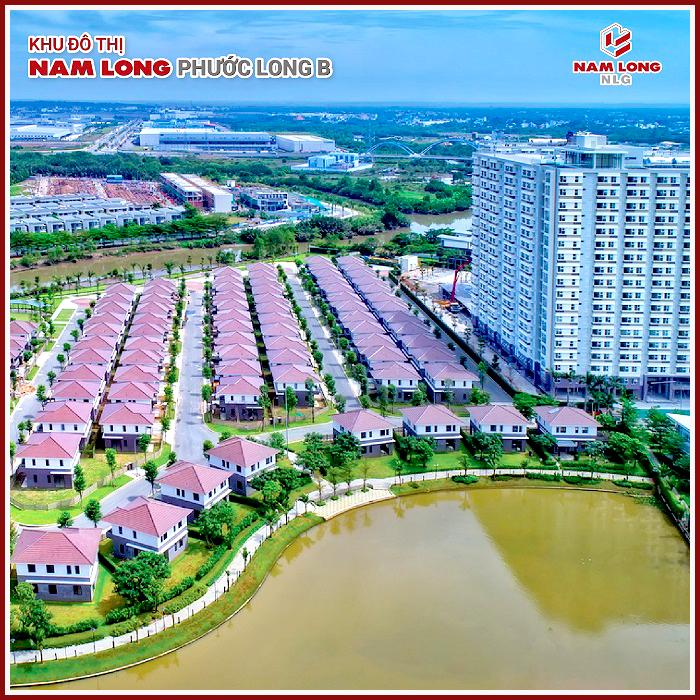 Biệt thự khu đô thị Nam Long Phước Long B