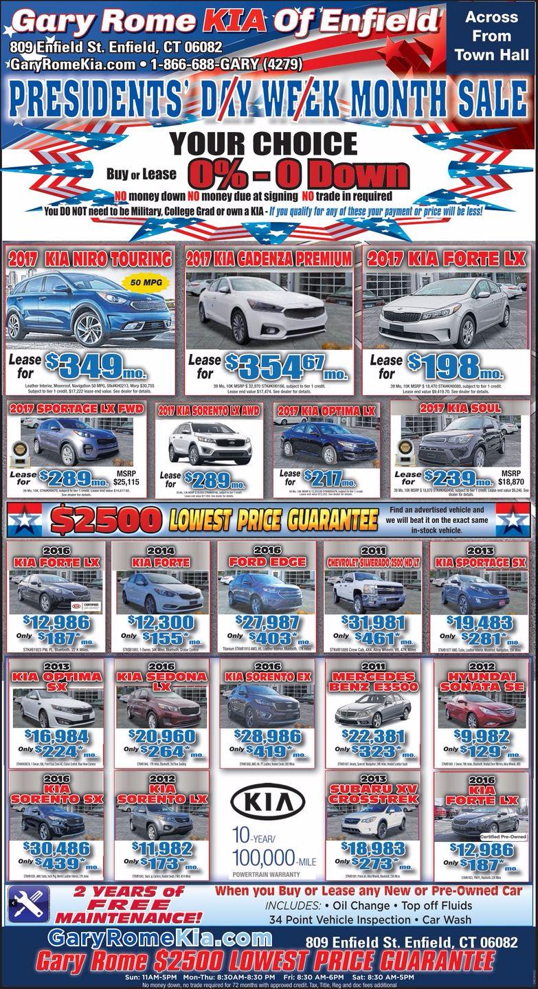 Memorial Day Car Sales 2017 >> Kia Dealer Gary Rome Kia - A Gary Rome Kia Site (866) 688 ...