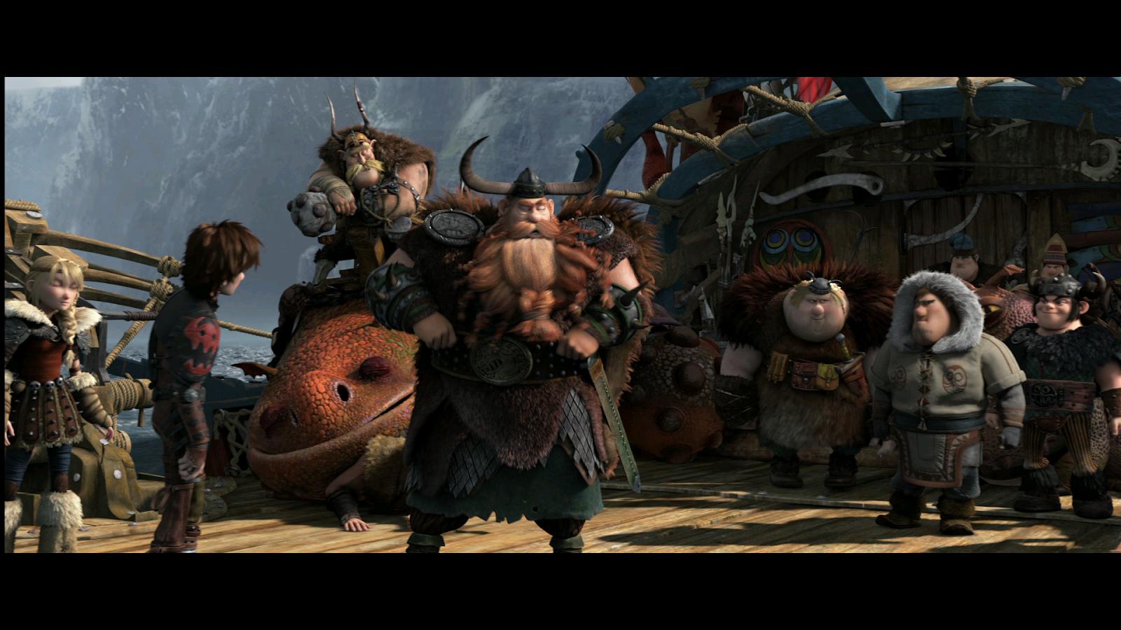 Como Entrenar a Tu Dragon 2 (2014) 3D 1080p BD25 2